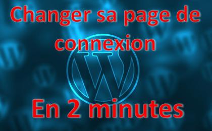 changer sa page de connexion