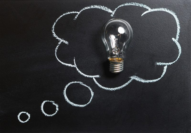 penser idée ampoule